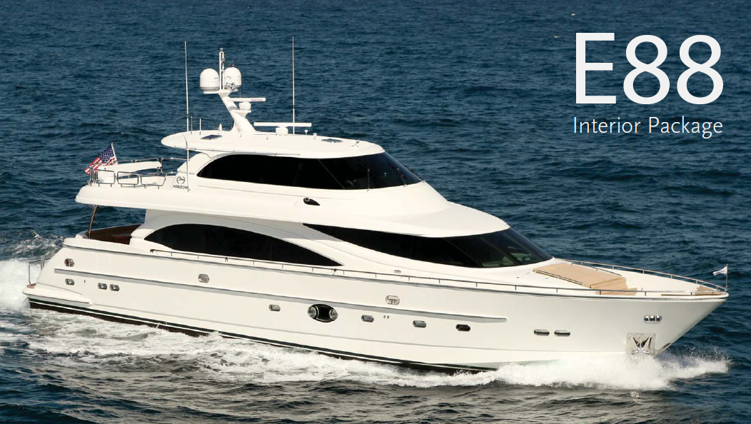 Horizon Yachts - E88 - #1 in Top 10 Motoryacht Brands By 26 North Yachts