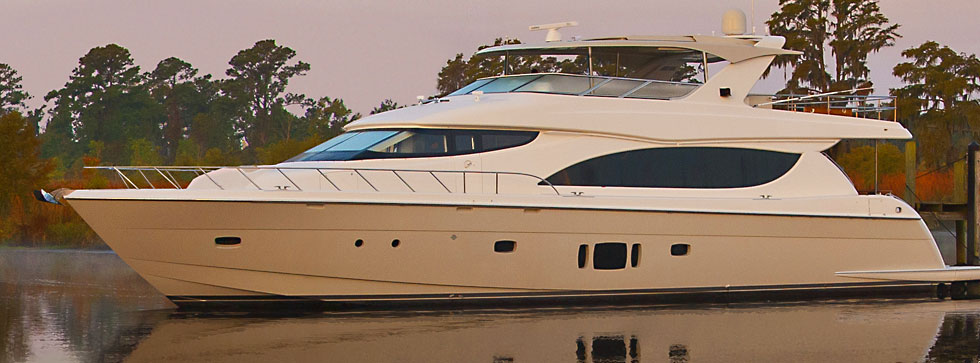 New Hatteras 80 MY delivered
