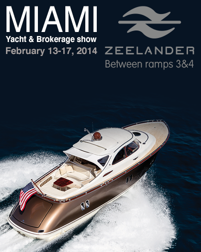 zeelander at miami boat show with 26 North yachts