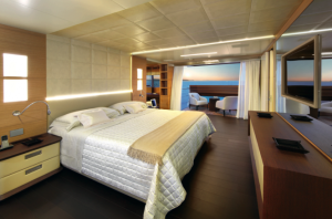 Benetti Classic Supreme 132 Master Stateroom PHOTO CREDIT Thierry Amelier