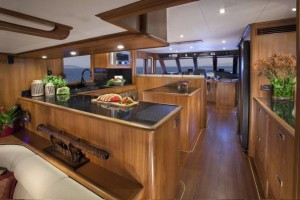 Outer Reef 700 Galley