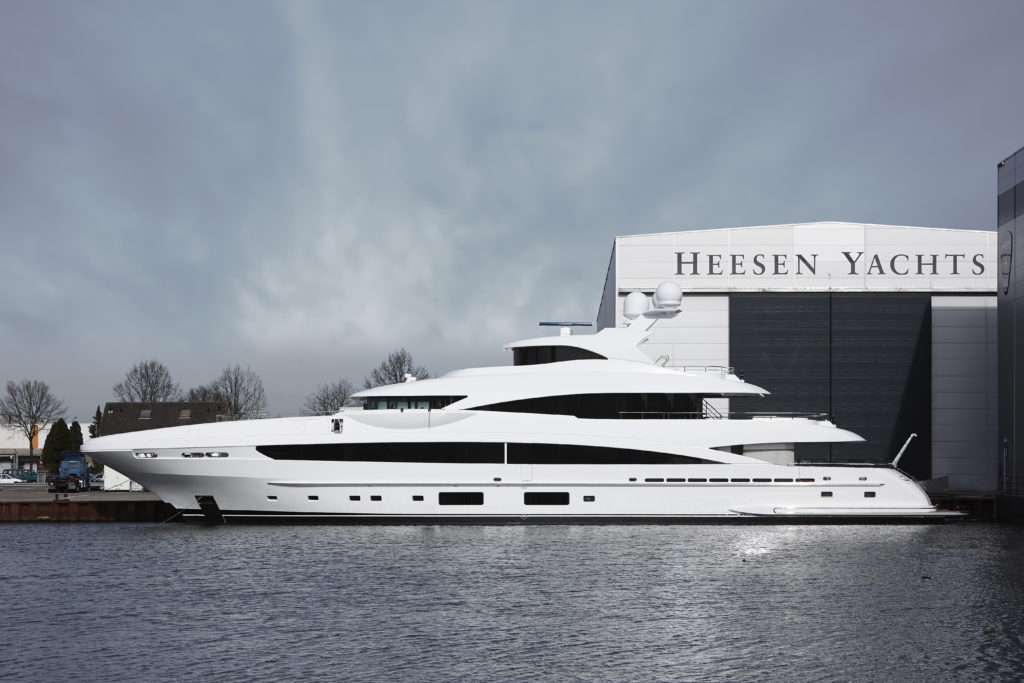 Heesen Yachts Launches 167' MY SKY | 26 North Yachts