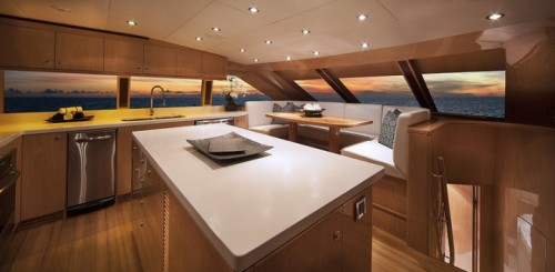 Hargrave 101 SASSY Galley Country Kitchen