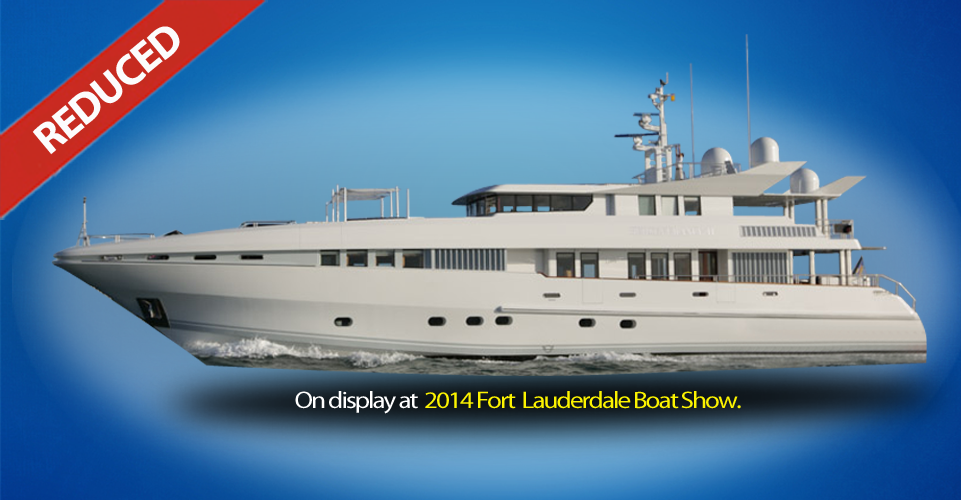 Oceanfast 123 Perserverance - Price Cut at Fort Lauderdale Boat Show