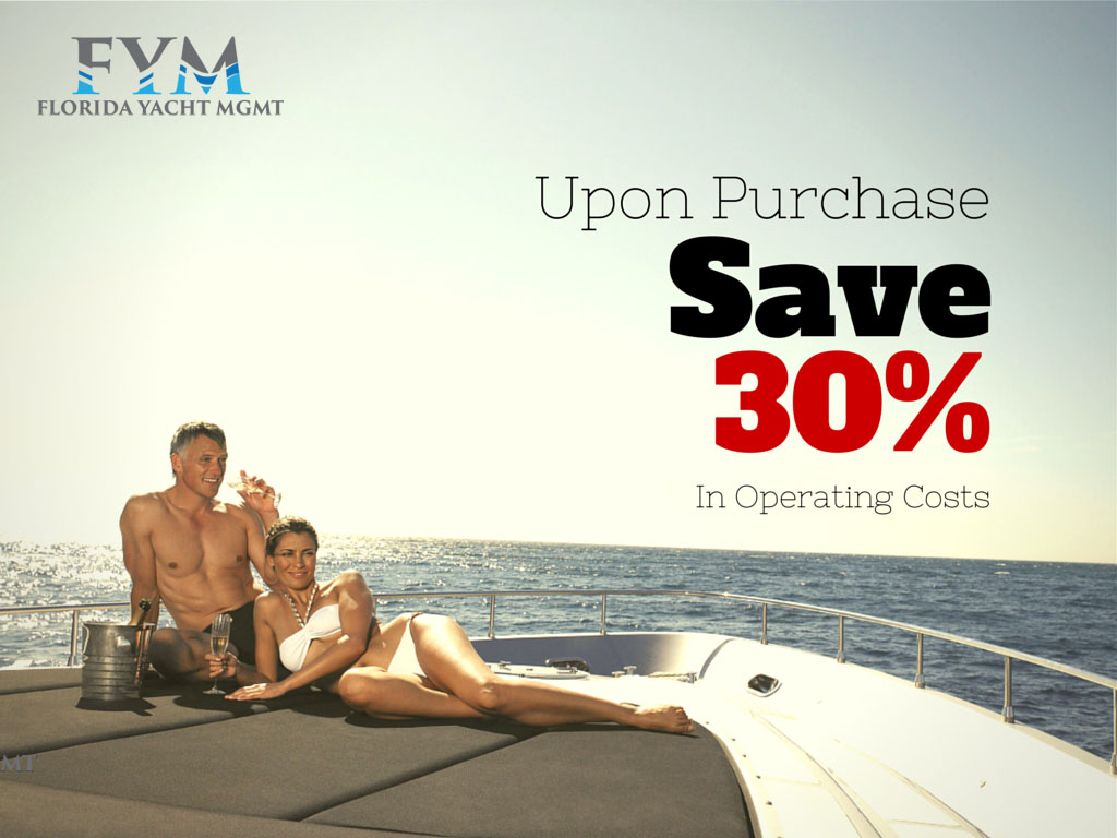 Save 30% with Florida Yacht Management