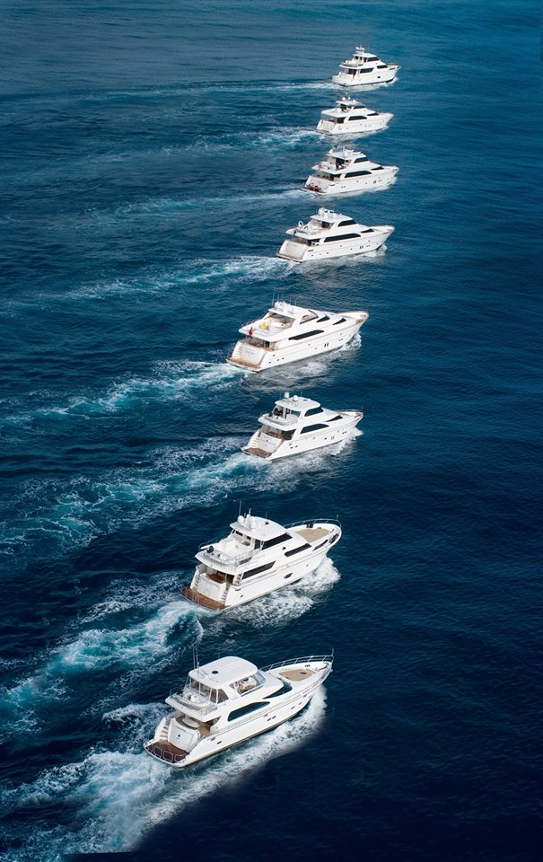 Horizon Yachts Fleet