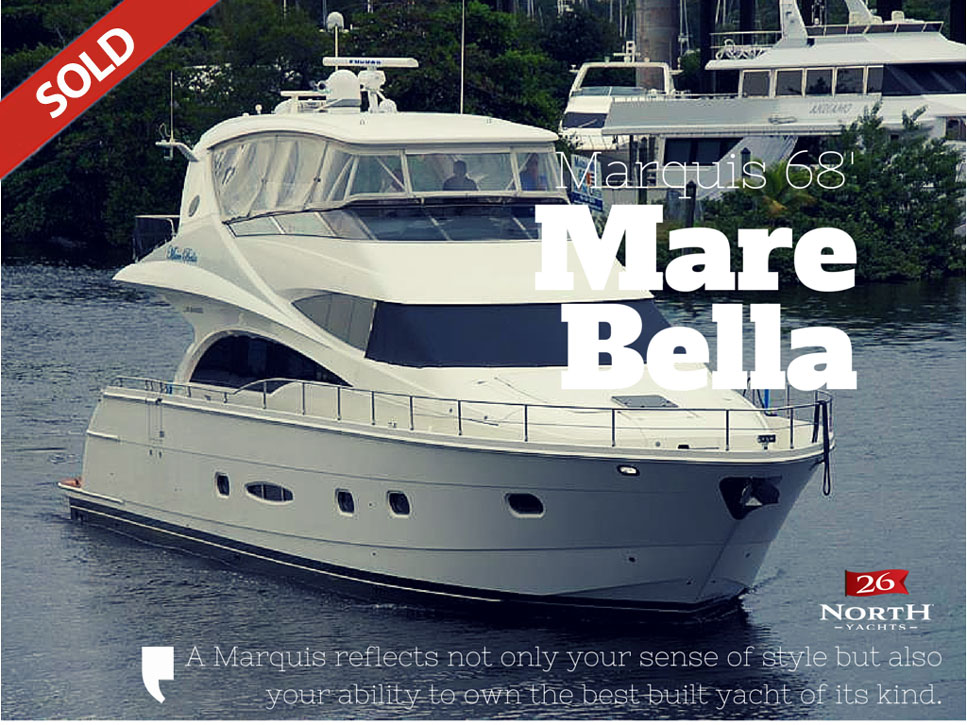 Mare Bella, Marquis 65 Sold