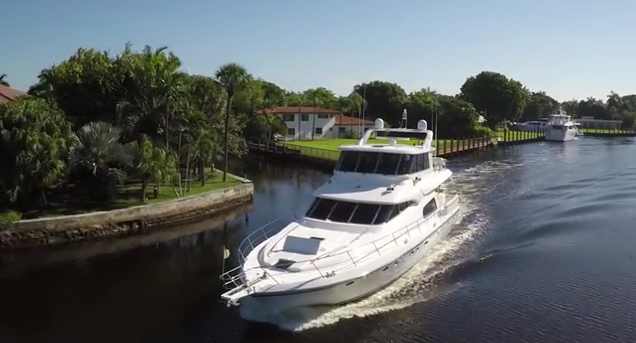70' Johnson motoryacht for charter