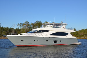 The Hatteras 80
