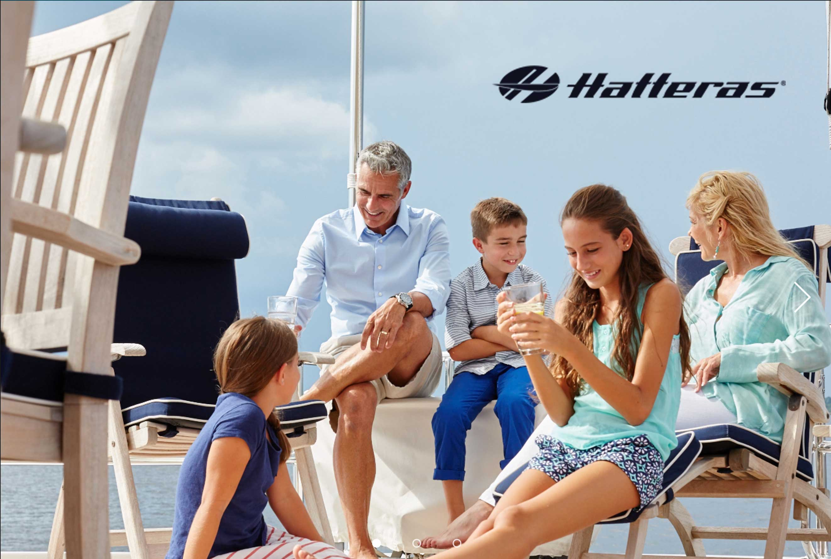 Hatteras Yachts Lifestyle