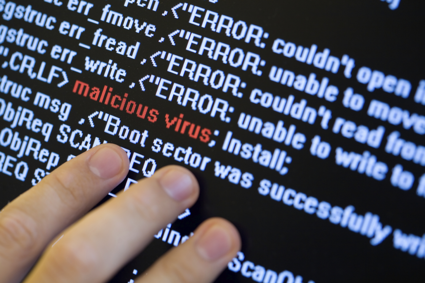 The Malware attack © http://www.26northyachts.com