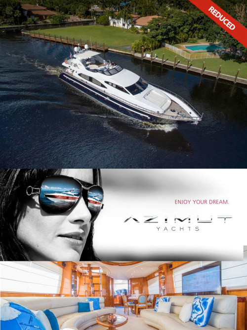 Azimut 85 Serene Price Cut