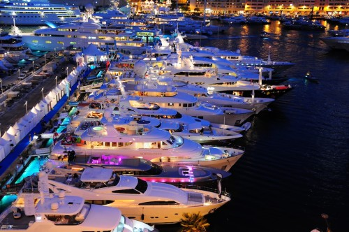 yacths for sale at boat show