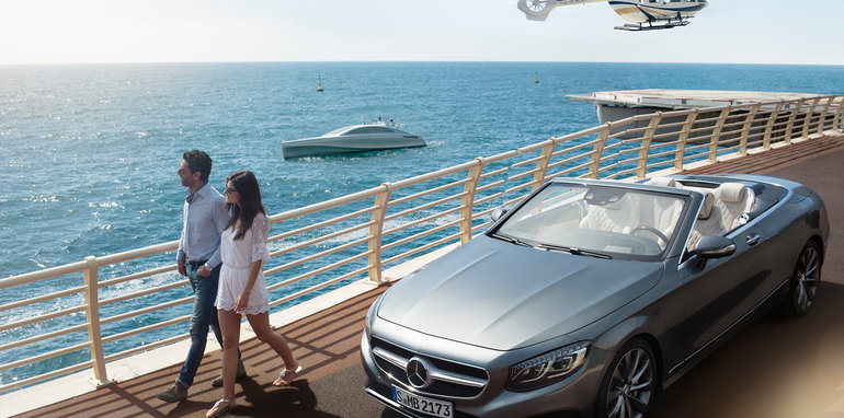 It's a Car, It's boat, It's a Luxury Yacht from Mercedes! | 26 North