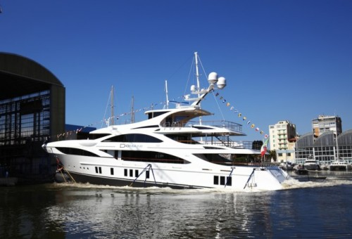 148ft Benetti Yacht is Launched