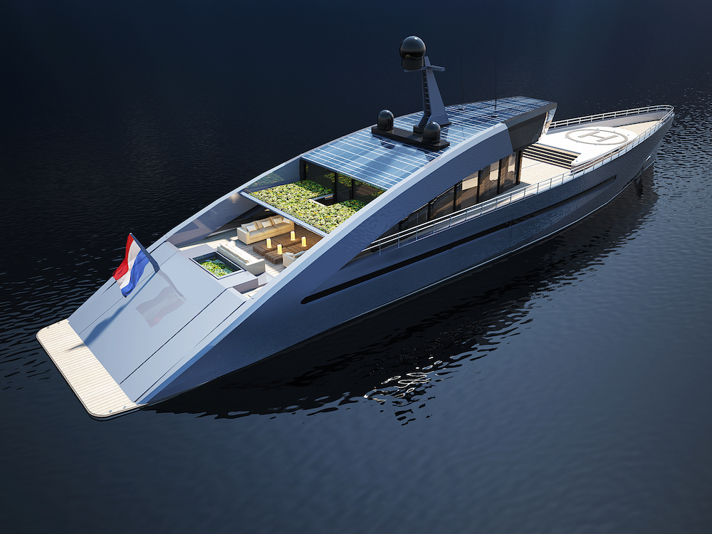 150ft Concept Yacht Is A Green Machine 26 North Yachts