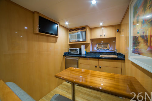 The Galley of Ti Punch Yacht