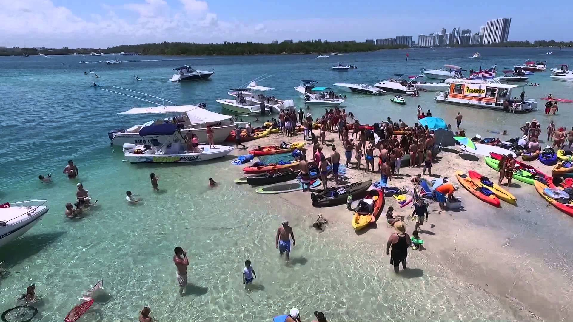 The Legendary Haulover Sandbar