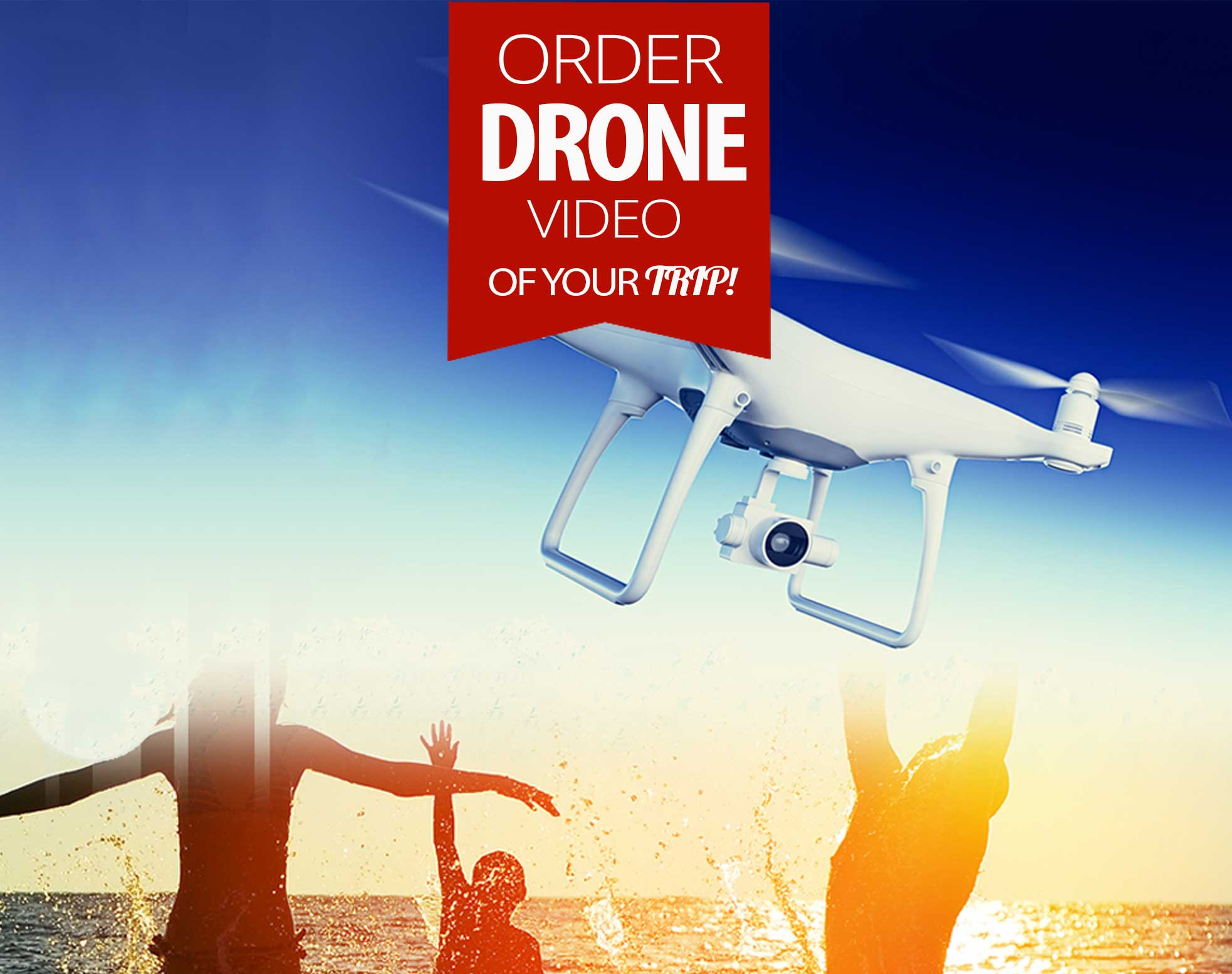 Order yacht charter drone video