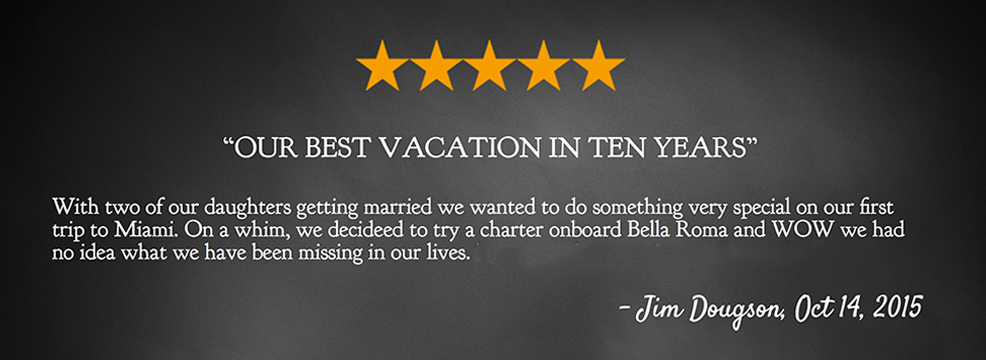 Yacht Charter Reviews