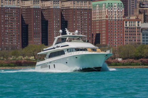 Yacht for sale in Chicago