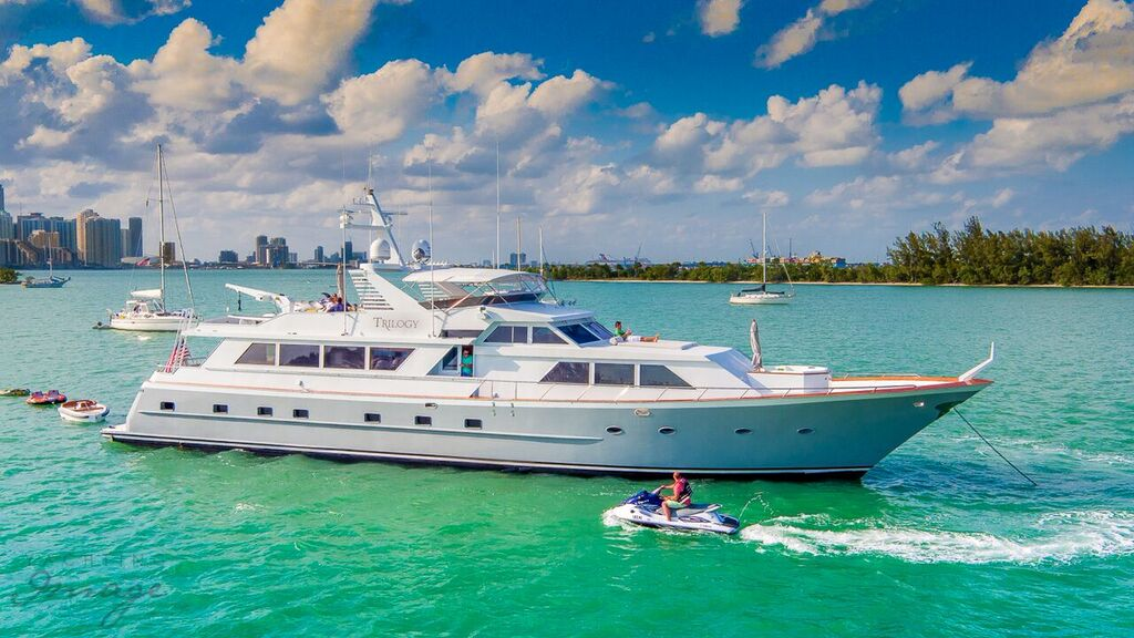 Broward Yacht for Charter