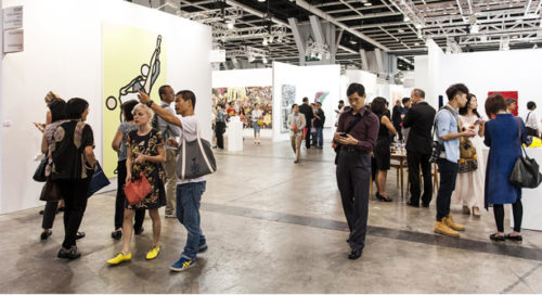 Art Basel during day 2 on May 15, 2014 at the Hong Kong Convention and Exhibition Centre in Hong Kong, China. Photo by Xaume Olleros / Art Basel