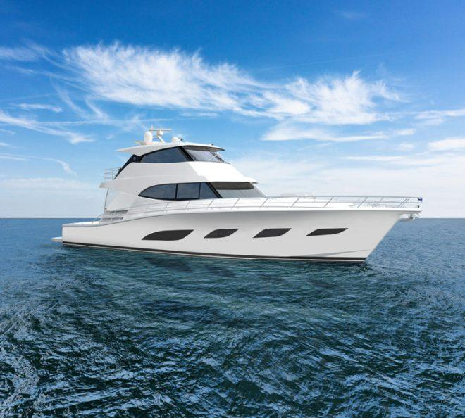 The new 68 Foot Sports Yacht