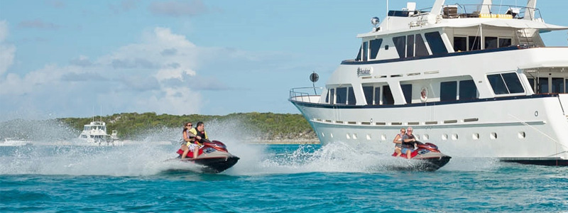 a charter yacht vacation