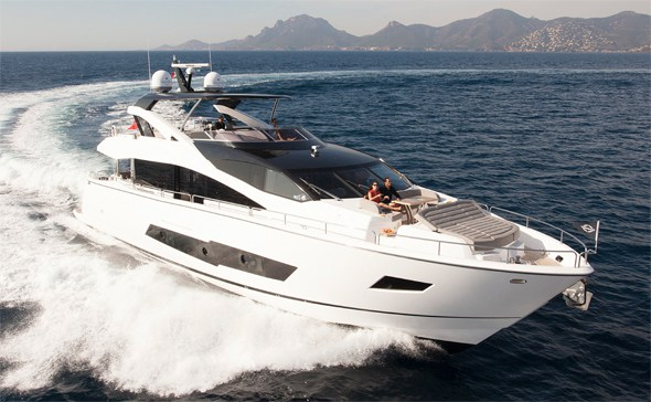 Award Winning Sunseeker Yacht