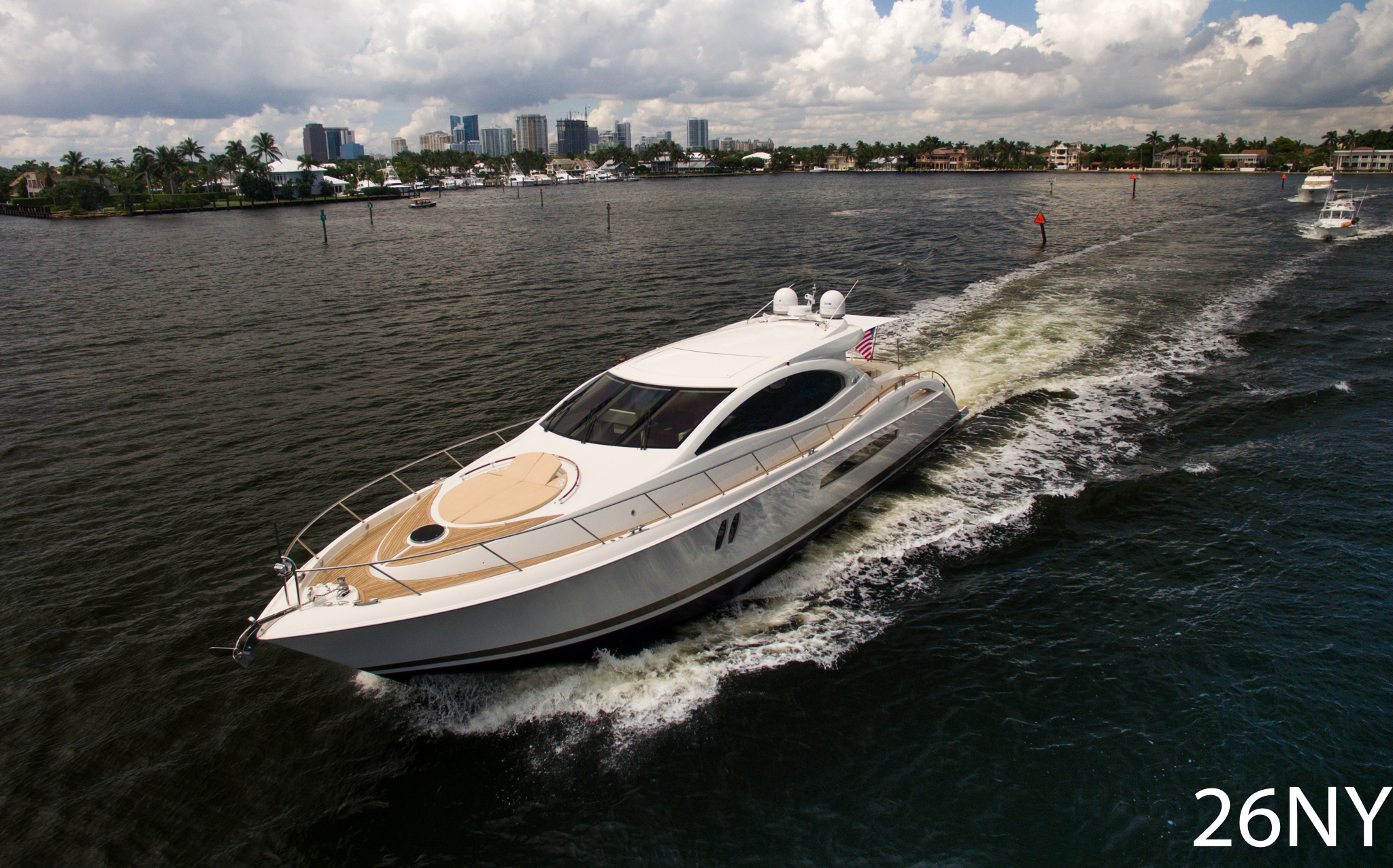 75' Lazzara LADY H Motor Yacht For Charter | 26 North Yachts
