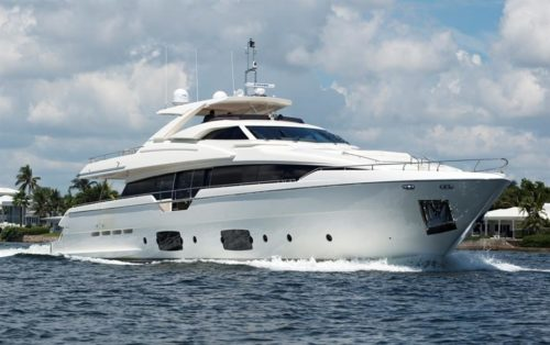 Our Trade - Ferretti Yacht for Sale