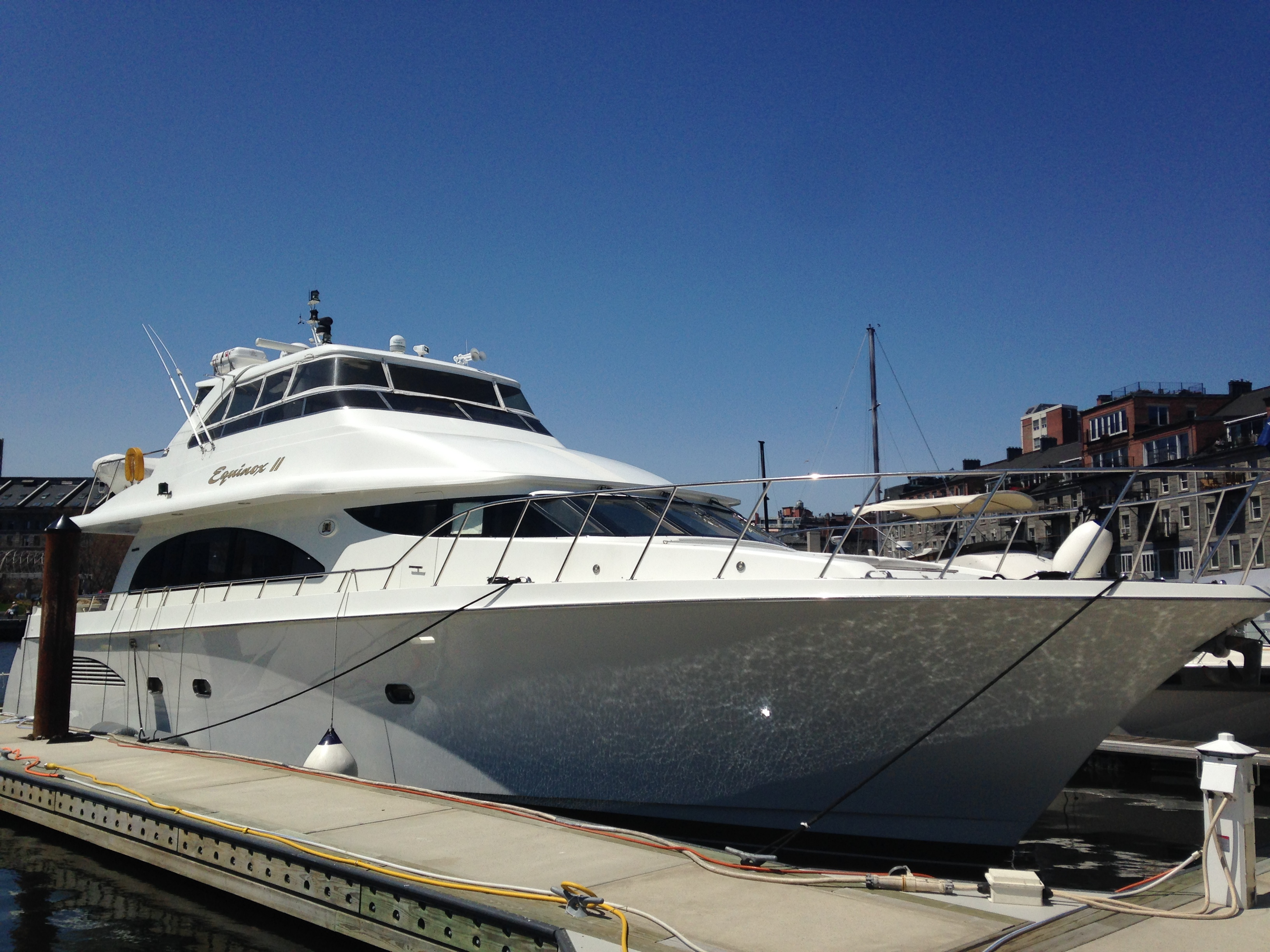 Equinox II by Cheou Lee Yachts at the Dock- 26 North Yachts