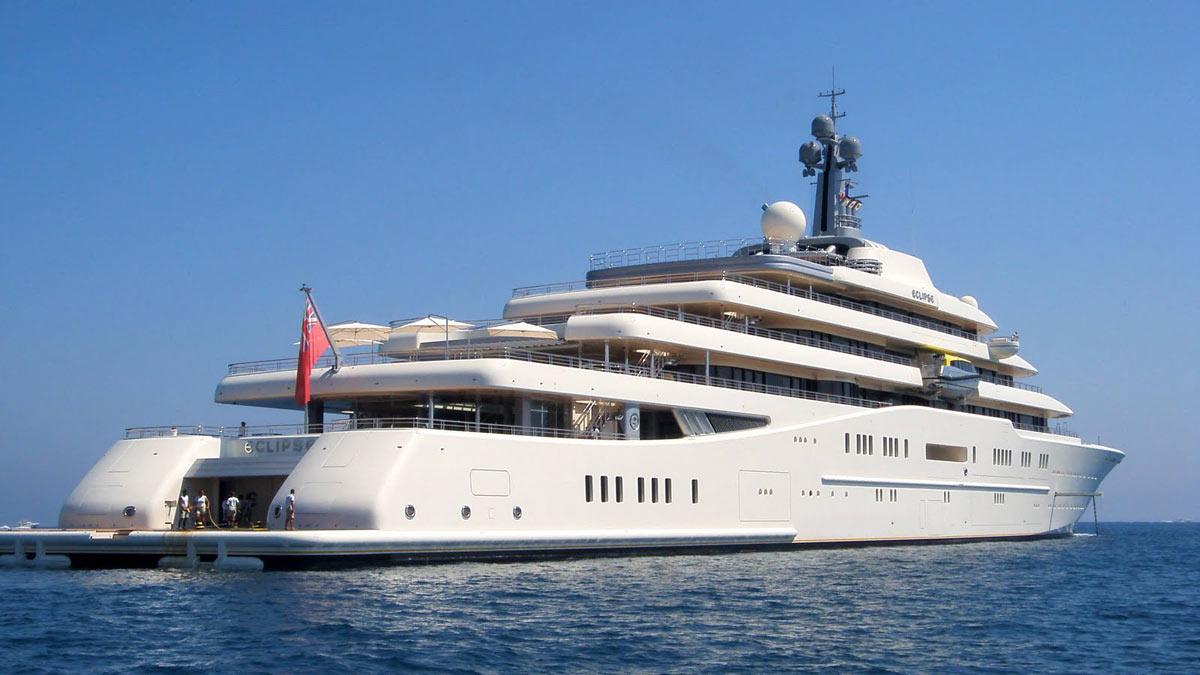 Superyacht abramovich  Take a Glimpse at the Eclipse – The World's Most Expensive Luxury ...