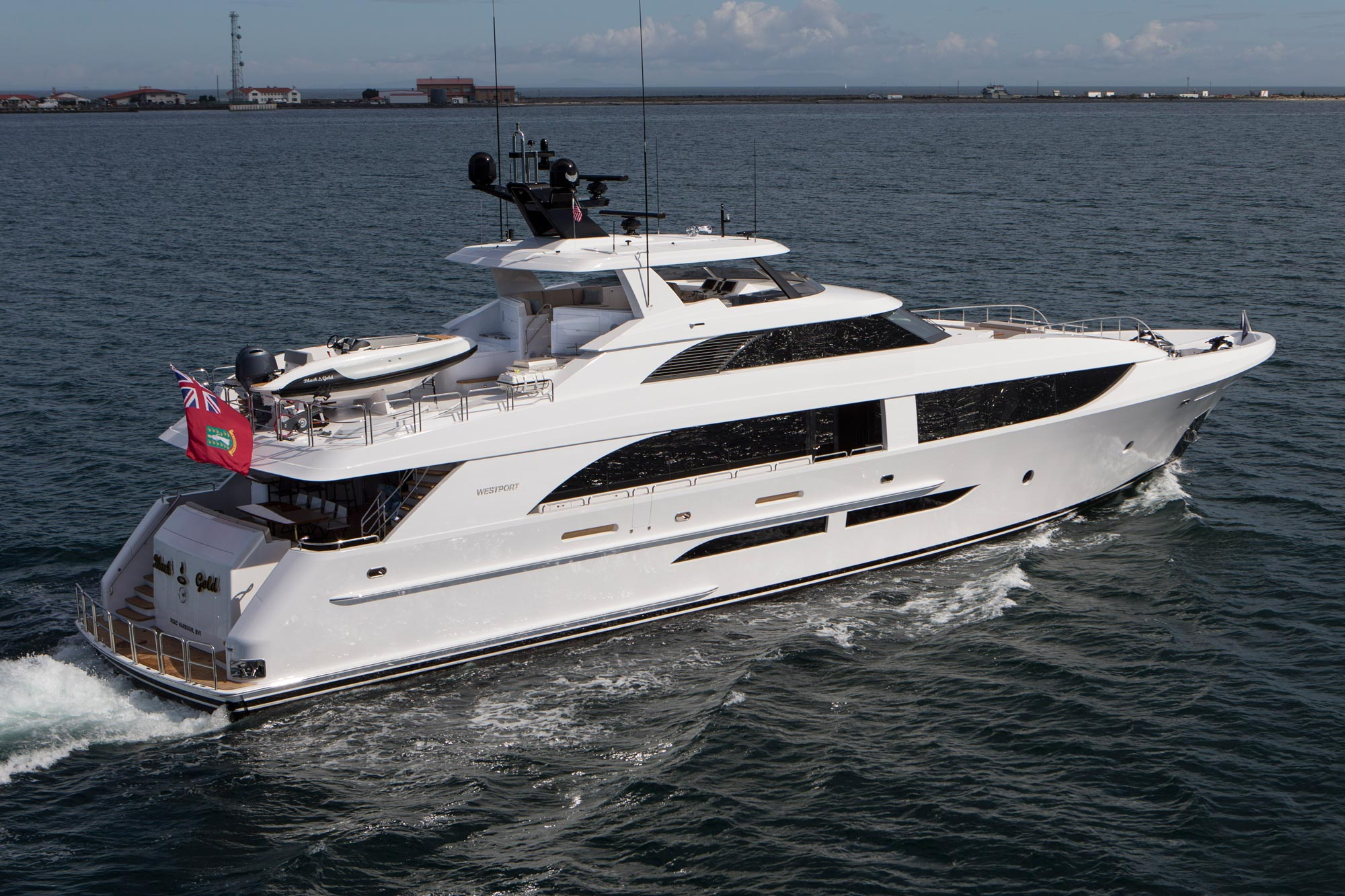 The new westport 125 continues to make waves 26 north yachts for The westport