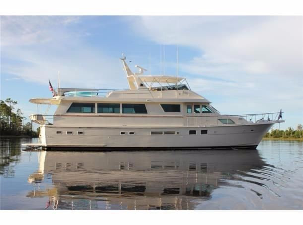 Yacht of the week princess grace 70 foot hatteras yacht for Hatteras 70 motor yacht