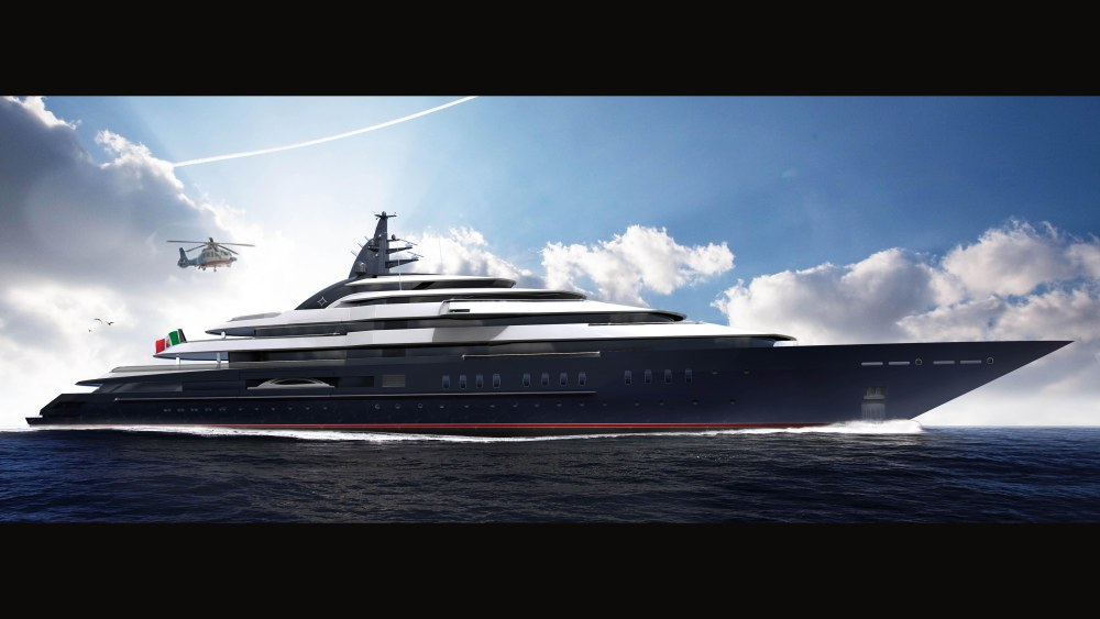 Lurssen S Impressive Project Redwood On Track For 2019 Delivery 26