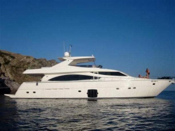83' Ferretti Yachts 830 for sale - 26 North Yachts